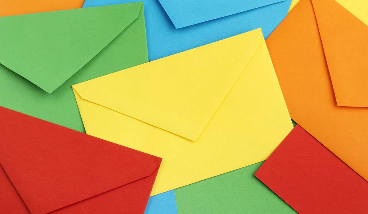 Grab attention with full-color envelopes