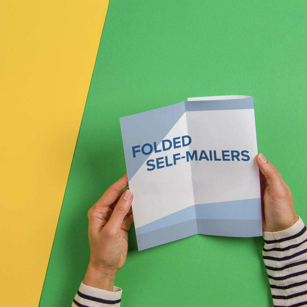 Folded Self Mailers
